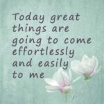 morning words of affirmations