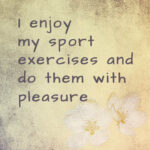 Powerful affirmations for fitness