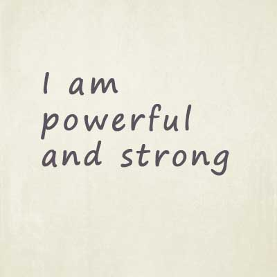 Powerful affirmations for men