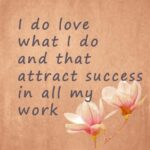 Quote for success at work