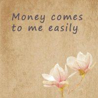 Positive affirmations about abundance