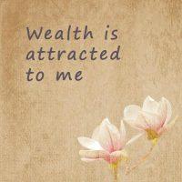 Positive money affirmations