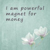 Positive affirmations for money