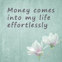 Positive words for money
