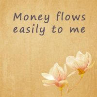 Powerful affirmations for money