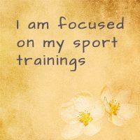Sport affirmations