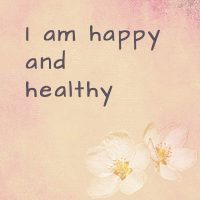 Positive affirmations about health