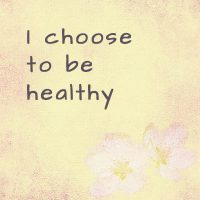 Powerful affirmations for health
