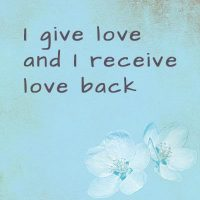 affirmations to attract love