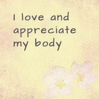 Powerful affirmations for weight loss